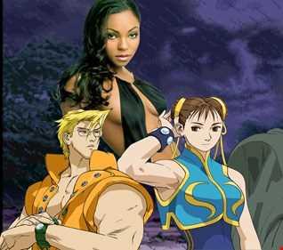 Rock till the end - Ashanti vs Street Fighter