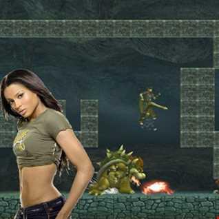 Step underground - Ciara vs Super Smash Bros