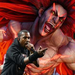 Necalli Power - Kanye West vs Street Fighter