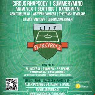FlunkyRock Festival 2016 - Germany - (Warmup DJ Set)