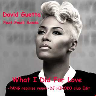 David Guetta Feat. Emeli Sande - What I Did For Love -PANG! reprise remix- [DJ HIROKO club Edit]