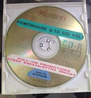 POWERHOUSE LTD CD VOL1 - 2001 HardHouse Vinyl Mix