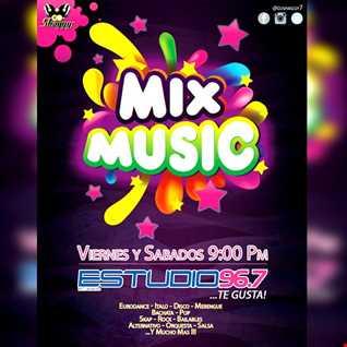 Mix Music en Estudio 96.7 Fm