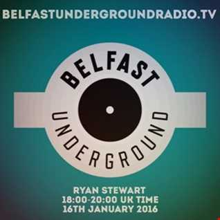 Live on Belfast Underground Radio 16-01-16