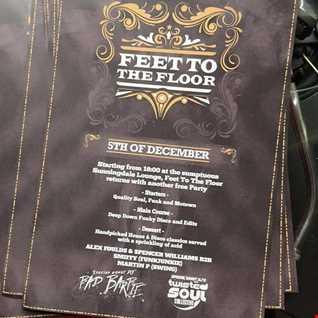 MARTIN P - FEET TO THE FLOOR - FUNK & SOUL SET 031215