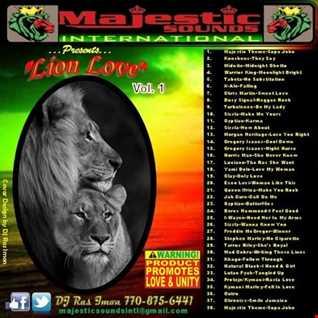 Lion Love: Vol. 1 Majestic Sounds International by DJ Ras Imon
