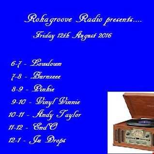 Burnzee Rokagroove Radio 12.8.16