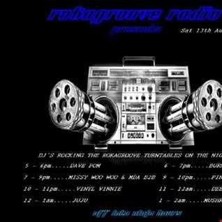 Burnzee Rokagroove Radio 13.8.16
