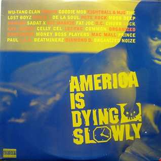 America Is Dying Slowly-Various ‎(Rappers)
