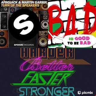 D'Joprim Mashup - Bad vs Turn Up The Speakers vs Harder Better Faster