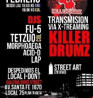 LAP live set @ Galeria Bond Street - February 12,2011. BA, Argentina.