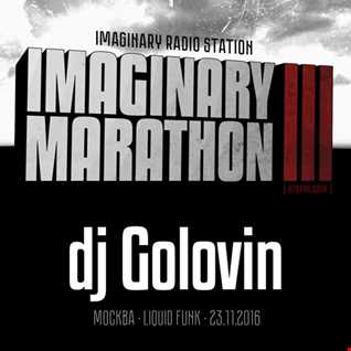 2016.11.23   Imaginary Marathon III . Day3. DJ Golovin Live At 87bpm.com