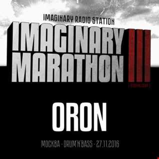 2016.11.27   Imaginary Marathon III . Day7. Oron Live At 87bpm.com