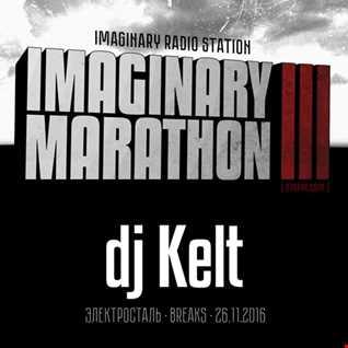 2016.11.26   Imaginary Marathon III . Day6. DJ Kelt Live At 87bpm.com