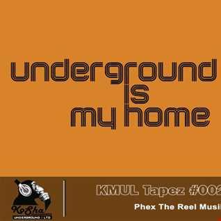 Kosha Manuevers Underground/Lmited Tapes #002 by Phex The Reel Musik