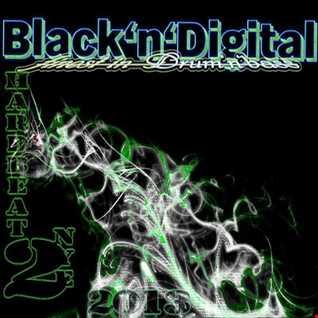 K.NETIK  pres.  Black'n'Digital hardbeat vol.2  NYE2013 warmup