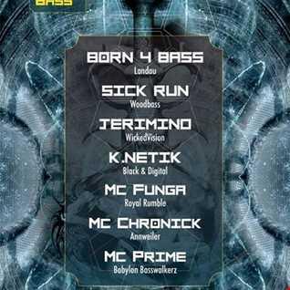 DJ K.NETIK @ NightBass2 - 29.03.2014 - colosseum landau