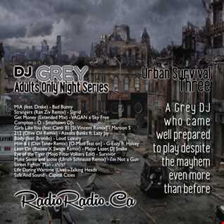 Moving Music _ AdultsOnlyNight _ UrbanSurvivalThree