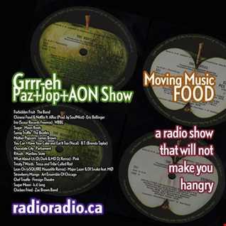 Grrr-eh's Moving Music_PazJop+AON_Food