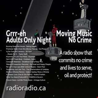 Moving Music AdultsOnlyNight NoCrime