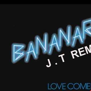 J.T @LIVE4AIR Bananarama Banana remix 3 versions  synchronized 4//10/2017