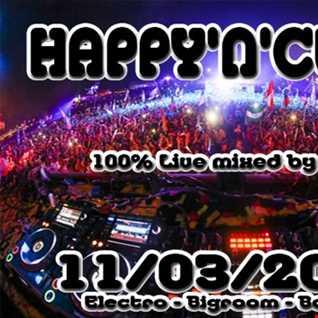 ( bigroom - electro ) HAPPY'N'CLUB 11-03-2017