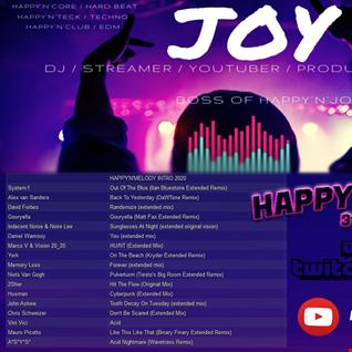 [ Trance & Twitch ] HAPPY'N'MELODY 31 01 2020 mixed by JOY