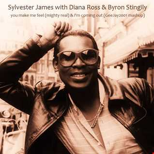 Sylvester with Diana Ross & Byron Stingily - You Make Me Feel (Mighty Real) & I'm Coming Out - GeeJay2001 mashup