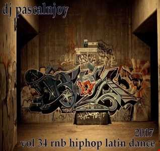 dj pascalnjoy vol 34 rnb hiphop latin dance 2017