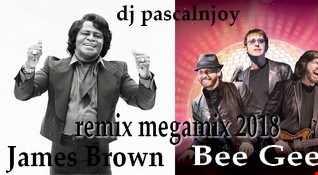 dj pascalnjoy Bee Gees & James Brown remix megamix 2018
