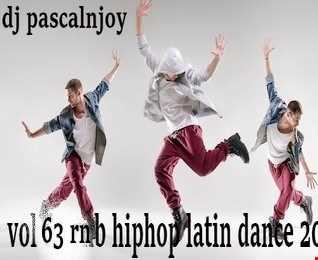 dj pascalnjoy vol 63 rnb hiphop latin dance2019