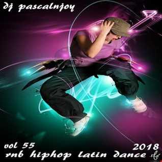 dj pascalnjoy vol 55 rnb hiphop latin dance 2018