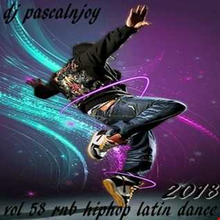 dj pascalnjoy vol 58 rnb hiphop latin dance 2018