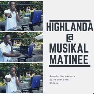 Highlanda Sound @ the Musikal Matinee Concert Series (5.15.16)