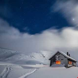 snowed in house mix