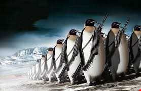 PENGUINS WITH GUNS