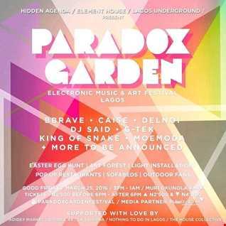 Paradox Garden Live dj set