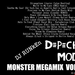 Depeche Mode Monster Megamix Vol 22 (2015)