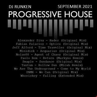 Progressive House Set September 2021