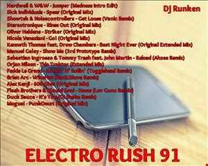 Dj Runken - Electro Rush 91 (2013)