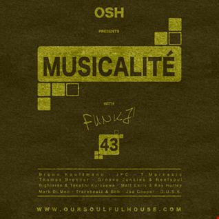 MUSICALITÉ #43 Edition - OSH