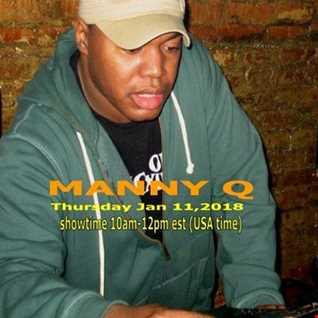 The Cyberjamz Radio Winter Slam Music Series w/Manny Queen