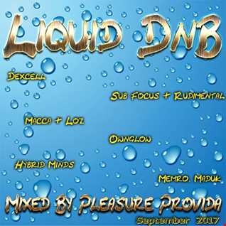 Pleasure Provida - Liquid DnB September 2017