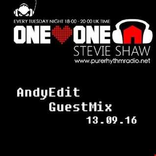 Andy Edit - One Love One House (Radio Show Guest Mix)