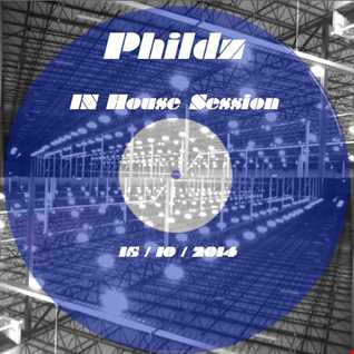 Phildz   In House Session 15 10 2014