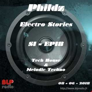 Electro Stories S1 EP18 20180608 (Tech House & Melodic Techno)