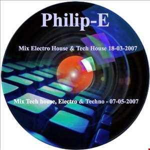 PhilipE (Mix Tech house, Electro & Techno   07 05 2007)