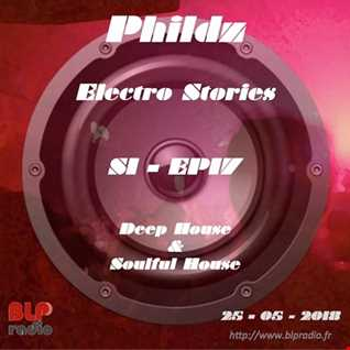 Electro Stories S1 EP17 20180525 (Deep & Soulful House)
