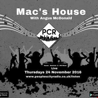 Peoples City Radio - Macs House 24 November 2016