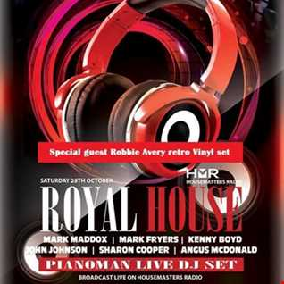 Royal House @ The Venue Sports Bar Skipton 28 October 2017   Angus McDonald